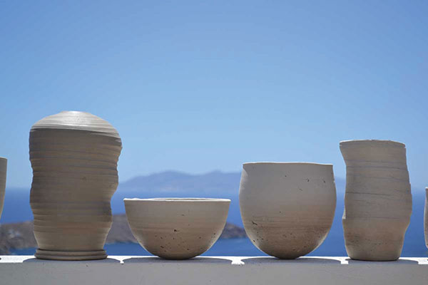 Pottery classes at Serifos