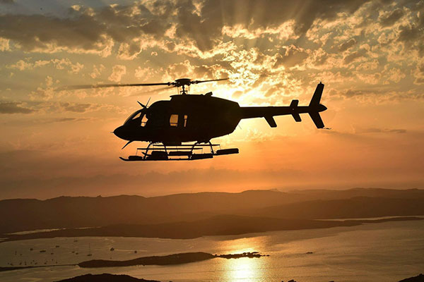 Transfer with a helicopter from/to Serifos