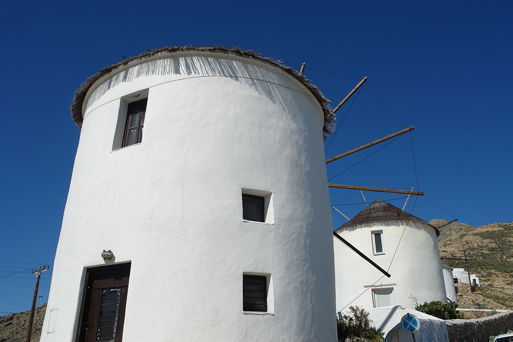 Windmill at Chora of Serifos