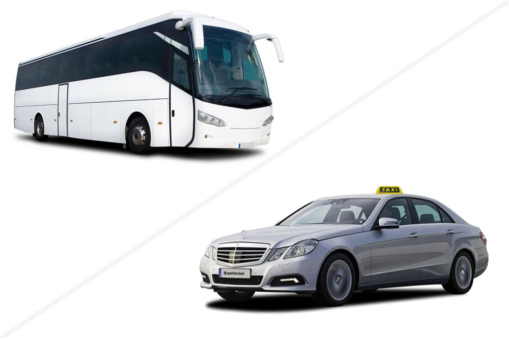 Transfer around Serifos by taxi or private bus