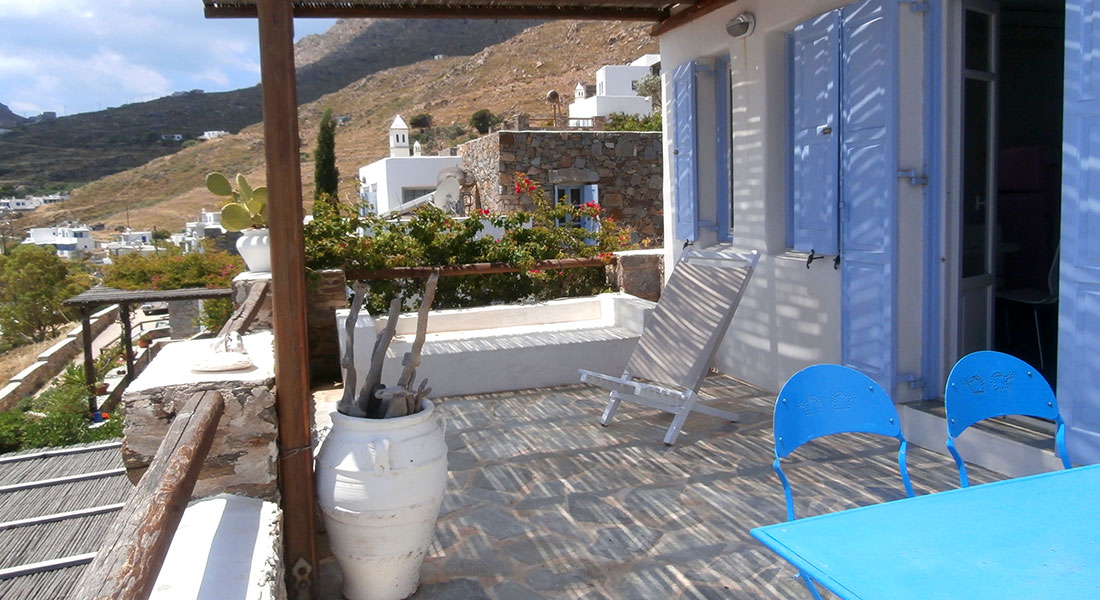 Eleonora house for rent in Serifos